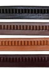 WEX Cartridge Holster Belt .38 Cal - Smooth Leather