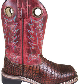 Smoky Mt Youth Reptile Print Western Boots
