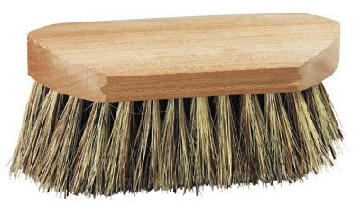 Brush-Showtime, Half Size, Grooming, Wooden Back