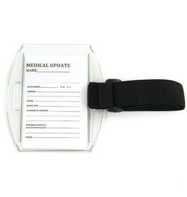 Medical Card ID Holder Clear