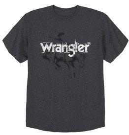 Wrangler Men's Wrangler SS Charcoal Heather T-Shirt