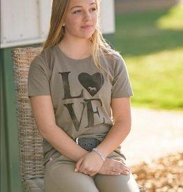 "Stirrups Women's Stirrups T-Shirt - ""Love"""