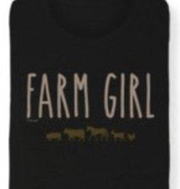 "Stirrups Women's Stirrups T-Shirt - ""Farm Girl"""