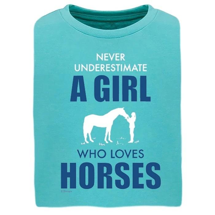 """Stirrups Children's Stirrups T-Shirt - """"Never Underestimate"""""""