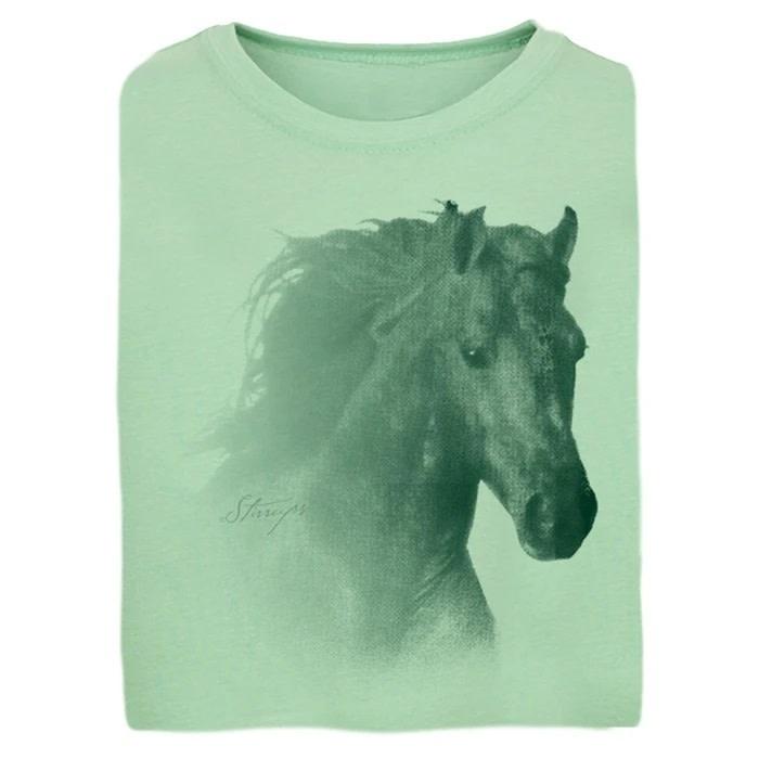 Stirrups Children's Stirrups T-Shirt - Horse Head Graphic