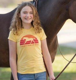 "Stirrups Children's Stirrups T-Shirt - ""Cow Girl State of Mind"""