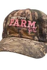 "Stirrups Ball Cap - ""Farm Girl"""