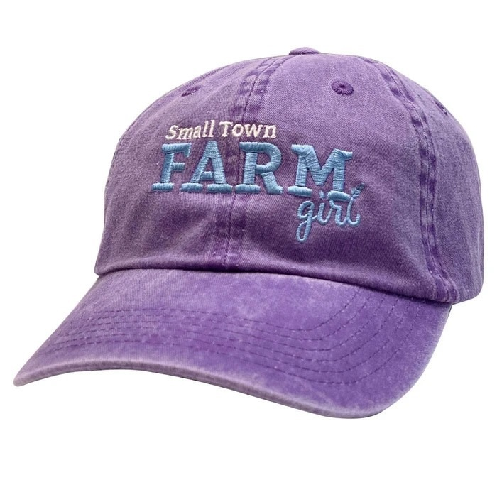 """Stirrups Ball Cap - Youth Fit """"Small Town Farm Girl"""""""