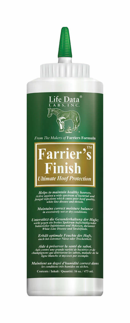 Life Data Farrier's Finish Ultimate Hoof Protection