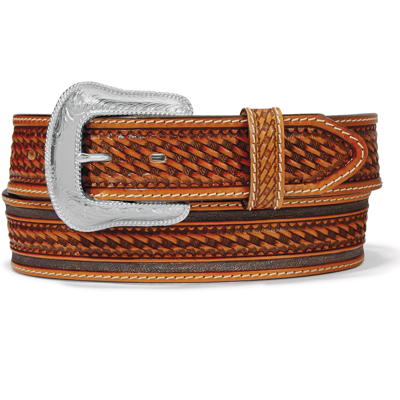 Tony Lama Belts Adult - Ringo Belt Brown