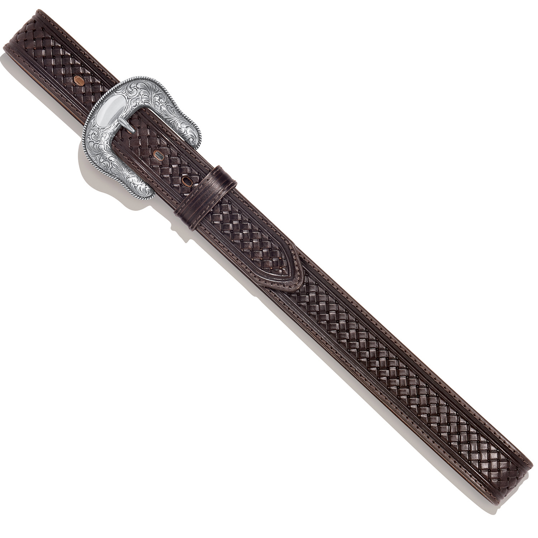 Justin Belts Adult - Colman Belt Chocolate