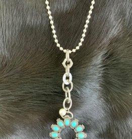 Necklace - Turquoise Pendant