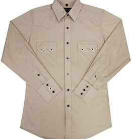 White Horse Men's White Horse Long Sleeve Sawtooth Pocket