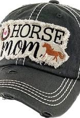 "AWST Ball Cap - ""Horse Mom"""