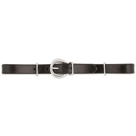 Curb Strap - Leather 11""