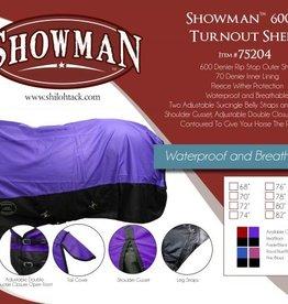 Showman Showman Waterpoof Turnout Sheet, 600D