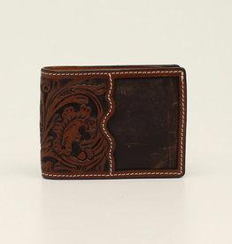 Wallet - Bi Fold Floral Acorn Tooled
