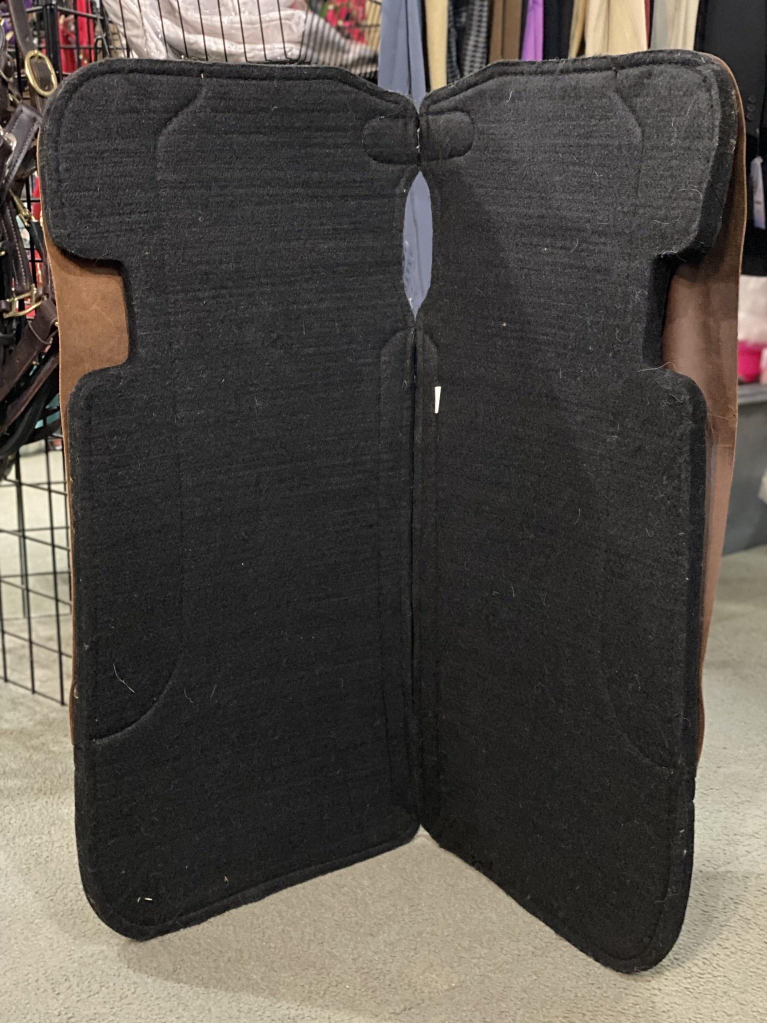 """Lamprey Felt Foundation Pad w/ Wear Leathers - 3/4"""""""