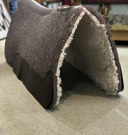 Pad - Contoured Wool Felt Top w/ Fleece Bottom