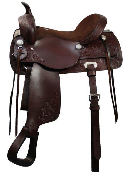 """Double T 16"""" Wide Double T Pleasure Trail Saddle"""