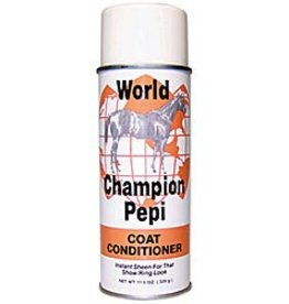 World Champion Pepi Coat Conditioner, Aerosol - 11.6oz