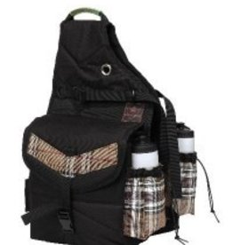 Kensington Kensington All Around Thermal Saddle Bag with Bottles - Black with Deluxe Black Plaid