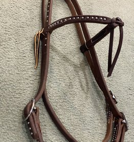 Circle L Circle L Futurity Knot Browband Headstall w/Spots