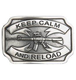 Belt Buckle - Keep Calm Reload
