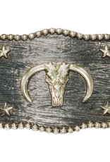 Belt Buckle - Scalloped Iconic Classic Longhorn