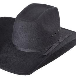 WEX WEX Black Faux Felt 8 Second Hat Kids