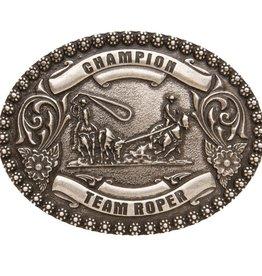 Belt Buckle - Oval Champion Team Roper