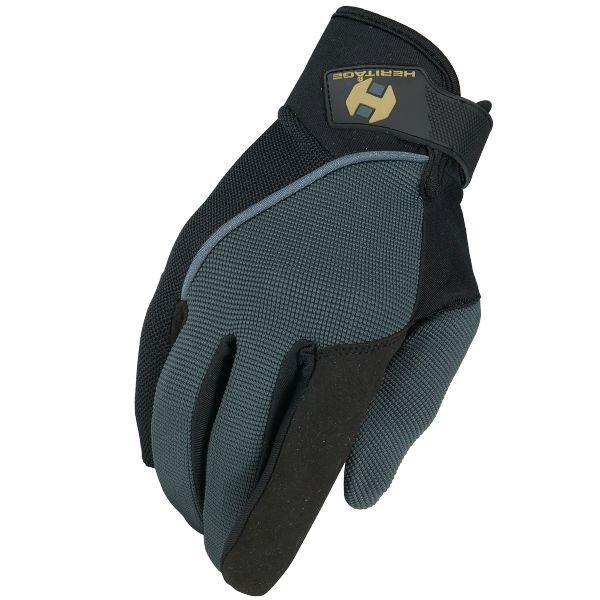 Heritage Heritage Competition Gloves - Dark Grey/Black