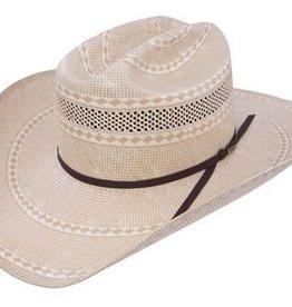 Resistol Resistol Men's Puncher, 20X, Cowboy Hat, Ivory/Tan - 7 3/8