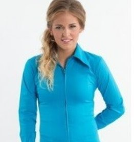 Royal Highness Women's RHC Teal Collared Show Shirt