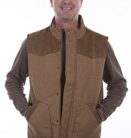 Scully Leather Men's Scully Canvas Vest
