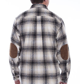Scully Leather Men's Scully Brawney Flannel Plaid Shirt