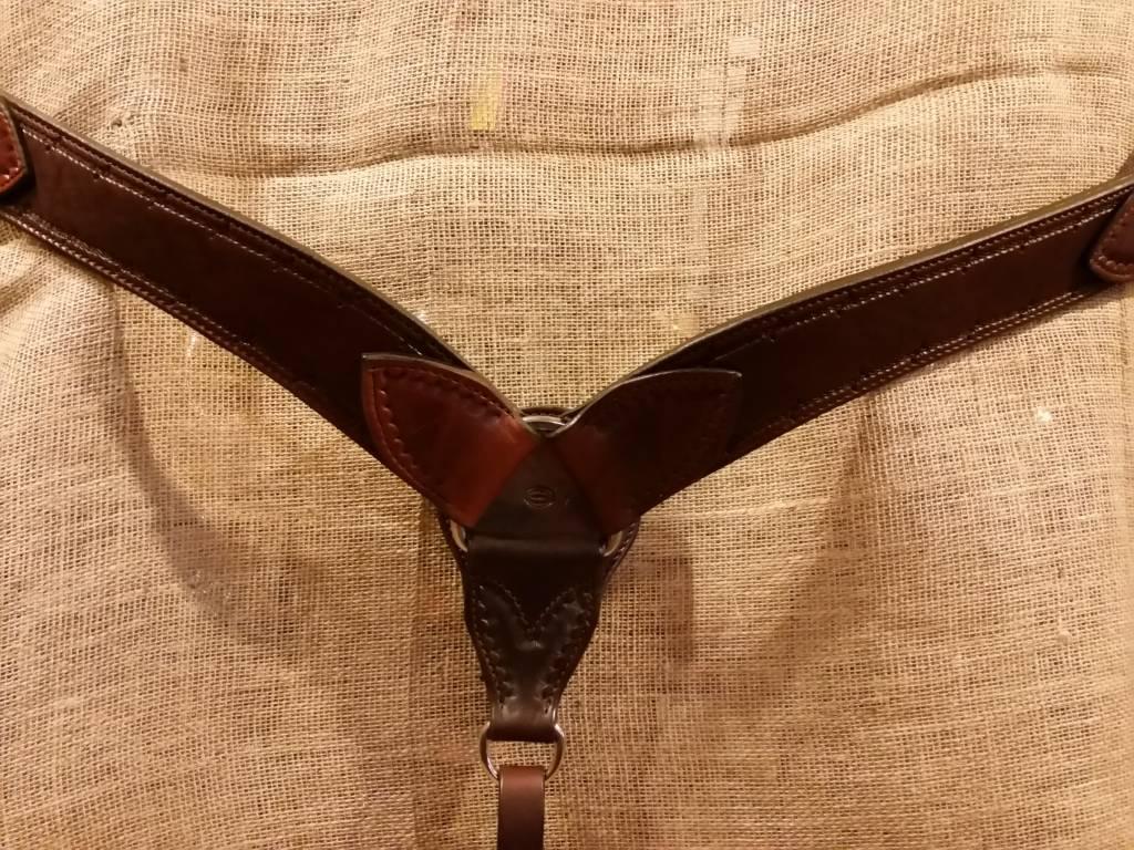 Circle L Circle L Rugged Breast Collar, U.S.A. Made - Horse Size