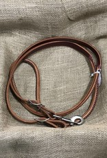 Circle L Circle L Leather Round Reins, Snap & Conway, U.S.A. Made - 7'