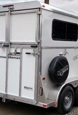 Kingston Trailers Kingston Two Horse Endurance with Dressing/Storage Room