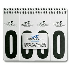 World Class Equine Winning Numbers Pair - 4 digit