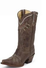 Tony Lama Women's Tony Lama Chocolate Rancho Boots (Reg. $239.95 NOW 25% OFF)