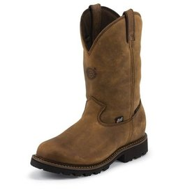 Justin Work Boots Men's Justin Tool Pusher Waterproof Composite Toe Boot - Reg Price $254.95 - $55 OFF!!
