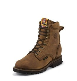 Justin Work Boots Men's Justin Tool Pusher Waterproof Composite Toe - Lace Up - Reg $259.95 @ 40% OFF!