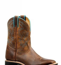 Boulet Western Women's Boulet Short Brown Western Boot - Proudly Canadian!! (Reg $229.95 now 25% OFF!)