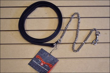 Circle Y Circle Y Show Halter Lead, D.Oil - 1""