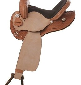 "Nash Saddlery Nash Saddlery Bear Mountain Barrel Saddle - 16"" FQHB"