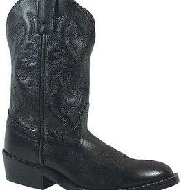 Smoky Mt Children's Denver Western Boot, Black - 8.5