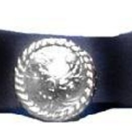 WEX Hat Band - 3 Conchos Black