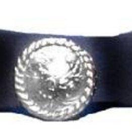 WEX Hatband - 3 Conchos Black