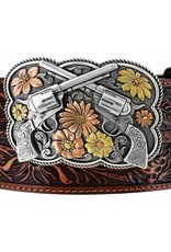 Tony Lama Belts Adult - Bandit Queen Brown